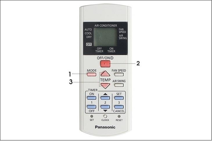 Hướng dẫn cách điều khiển điều hòa Panasonic KC Series