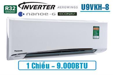 CU/CS U9VKH-8, Điều hòa Panasonic 9.000BTU 1 chiều inverter