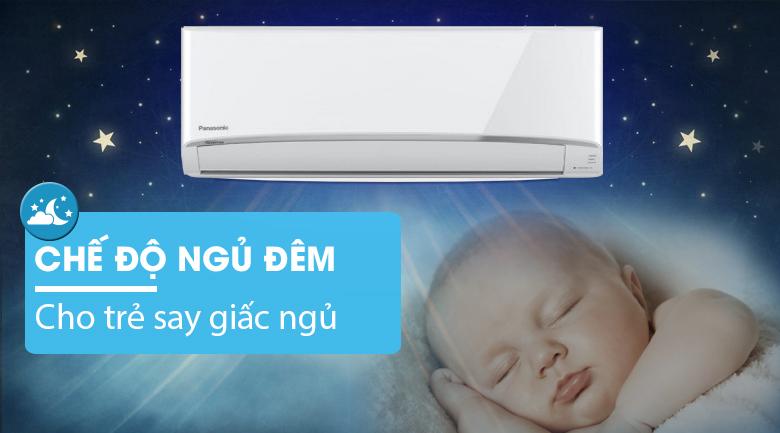Chế độ ngủ đêm - Máy lạnh 2 chiều Panasonic 1.5 HP CU/CS-YZ12UKH-8