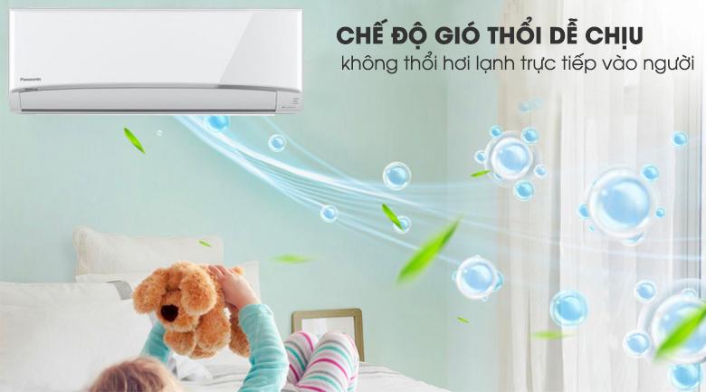 Chế độ thổi gió dễ chịu - Máy lạnh 2 chiều Panasonic 1.5 HP CU/CS-YZ12UKH-8