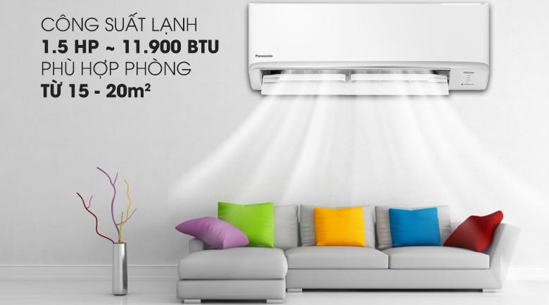 Điều hòa Panasonic 12000 BTU 2 chiều inverter Model CU/CS YZ12WKH-8