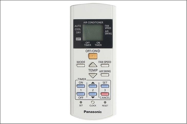 Hướng dẫn cách sử dụng điều khiển điều hòa Panasonic model cũ