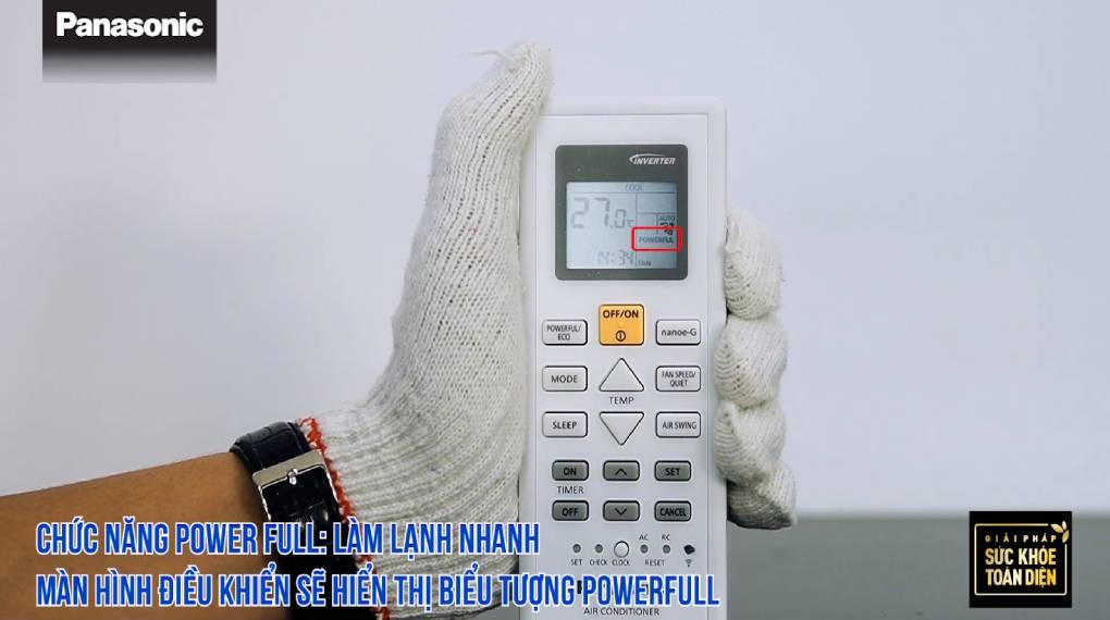 Hướng dẫn sử dụng điều khiển điều hòa CU/CS-WPUWKH-8